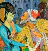 شیخ به ناگاه در مقابل خود نه ، دختری بیمار ، که پری پیگری نازار و دل از کف می دهد را می بیند