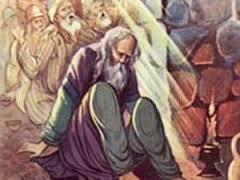 شیخ ذر امانت خیانت کرده و در کار خود درمانده است .