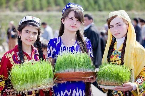dokhtarane-tajikistan-sabzeh-eyd-norooz