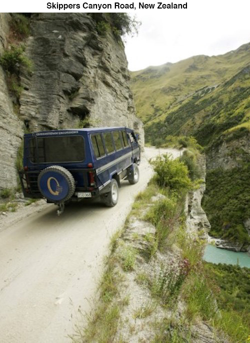 skippers_canyon_road_new_zealand